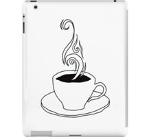 coffee scribble iPad Case/Skin