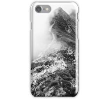 Golm (Alps, Austria) #13 B&W iPhone Case/Skin