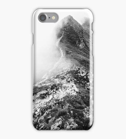 Golm (Alps, Austria) #13 B&W iPhone Case/Skin