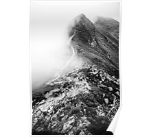 Golm (Alps, Austria) #13 B&W Poster