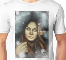 Elven Lady of Winter Unisex T-Shirt