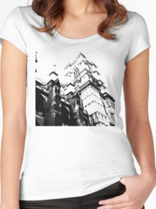 flying buttress Women's Fitted Scoop T-Shirt