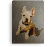 French bulldog painting Canvas Print