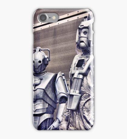 Cybermen - old and new iPhone Case/Skin