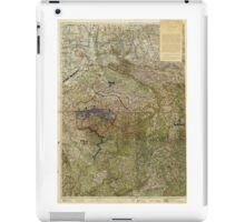 Map of the Ruhr Uprising March-April 1920 iPad Case/Skin