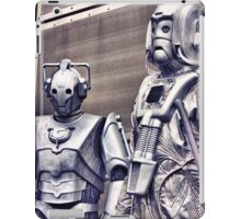 Cybermen - old and new iPad Case/Skin