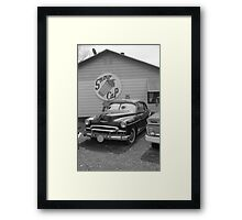 Route 66 Classic Car Framed Print