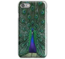 peacock show iPhone Case/Skin