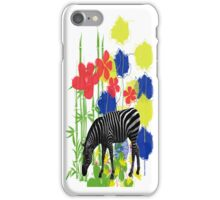 ZEBRA. iPhone Case/Skin