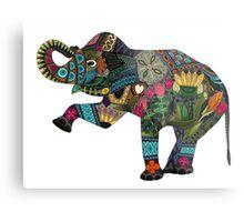 asian elephant white Metal Print