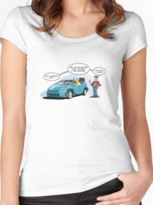 Hybrid to the Future Women's Fitted Scoop T-Shirt