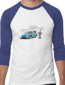 Hybrid to the Future Men's Baseball ¾ T-Shirt