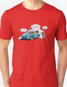 Hybrid to the Future Unisex T-Shirt