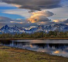 Torres Peaks by Peter Hammer