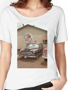 Route 66 Classic Car Women's Relaxed Fit T-Shirt