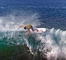 Andy Irons At Rip Curl Pro Pipe Masters 06-4 by Alex Preiss