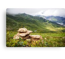 Golm (Alps, Austria) #10 Canvas Print
