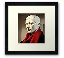 Fashion Portrait Framed Print