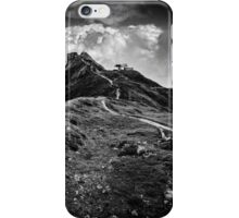Golm (Alps, Austria) #9 B&W iPhone Case/Skin