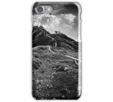 Golm (Alps, Austria) #9 B&W iPhone Case/Skin