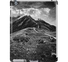 Golm (Alps, Austria) #9 B&W iPad Case/Skin