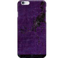 USGS Topo Map Washington State WA Pe Ell 243108 1986 24000 Inverted iPhone Case/Skin
