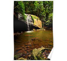 sunshine coast  Buderim Falls  Poster