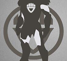 Black Lantern IronMan by caseyjennings