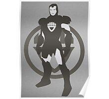 Black Lantern IronMan Poster