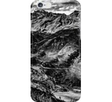 Golm (Alps, Austria) #4 B&W iPhone Case/Skin