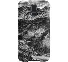 Golm (Alps, Austria) #4 B&W Samsung Galaxy Case/Skin