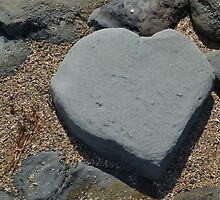 Heart Shaped Rock by Jess Jones