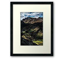 Golm (Alps, Austria) #4 Framed Print