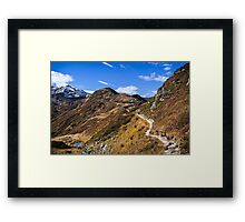 Golm (Alps, Austria) #1 Framed Print