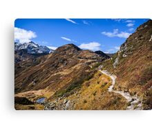 Golm (Alps, Austria) #1 Canvas Print