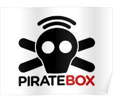 Pirate Box logo Poster