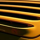 Yellow Porsche 911 Carrera Rear Slats by LongbowX