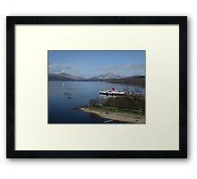 Maid Of The Loch, Loch Lomond, Balloch, Scotland Framed Print