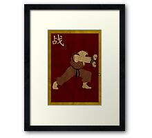 FIGHT: Ken Framed Print