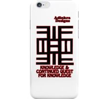 13-iphone4-Adinkra-Series-Knowledge iPhone Case/Skin