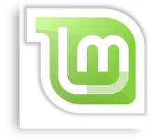 Linux Mint logo Canvas Print