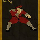 FIGHT: M. Bison by caseyjennings