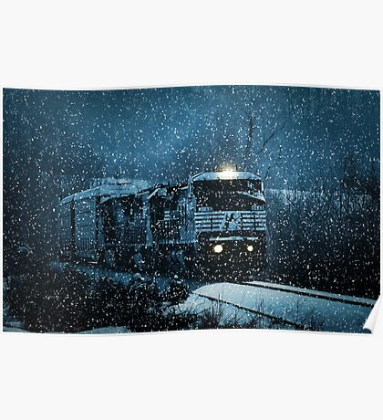 Another Train for the Holidays Poster