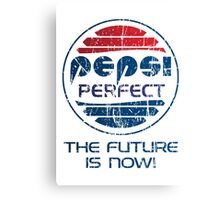 Pepsi Perfect - Distressed Canvas Print