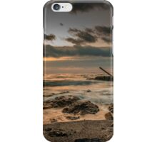 Silence of the waves iPhone Case/Skin