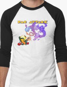 Pac Attack Men's Baseball ¾ T-Shirt