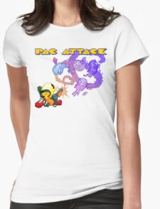 Pac Attack Womens Fitted T-Shirt