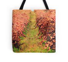 Winter Grape Vines Tote Bag