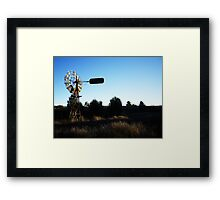 The Windmill Framed Print