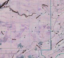 USGS Topo Map Washington State WA Salmon River East 20110506 TM Inverted Sticker